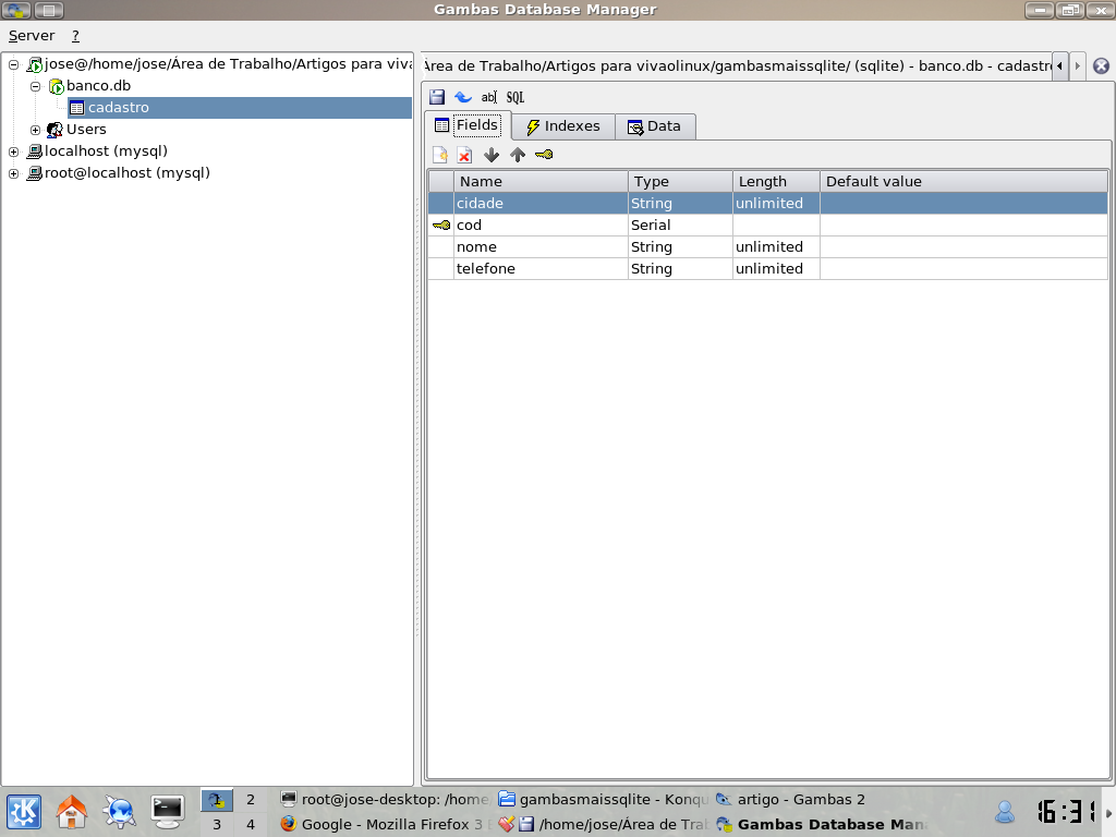 how to open sqlite manager in new firefox