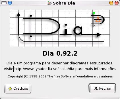 Dia o editor de diagrama microsoft visio para linux artigo apresentao geral ccuart Images