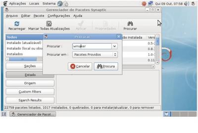 Debian Linux: Instalando WindowMaker via Synaptic