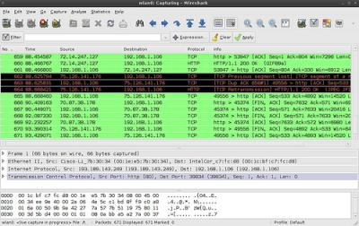Linux: Wireshark