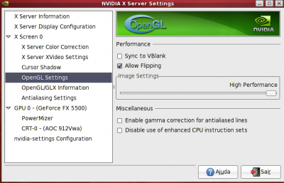 Linux: Aumentando a performance do Compiz