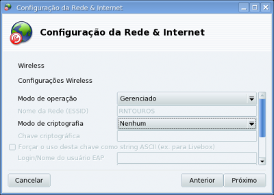 Configurando conexão wireless no Mandriva One e superior (Iniciantes)