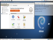 Gnome Central de programas no Debian