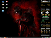 Desktop black
