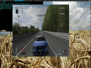 Tiling window manager Gran Turismo 4