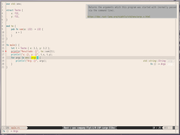 Tiling window manager Emacs