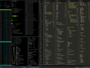Tiling window manager i3wm dual monitor