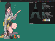 Tiling window manager Arch Linux + i3wm + polybar +rofi