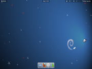 Gnome Debian CUT + Gnome 3.2 + Shell