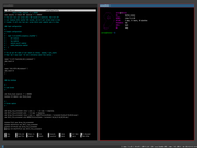 Tiling window manager Gentoo + Sway